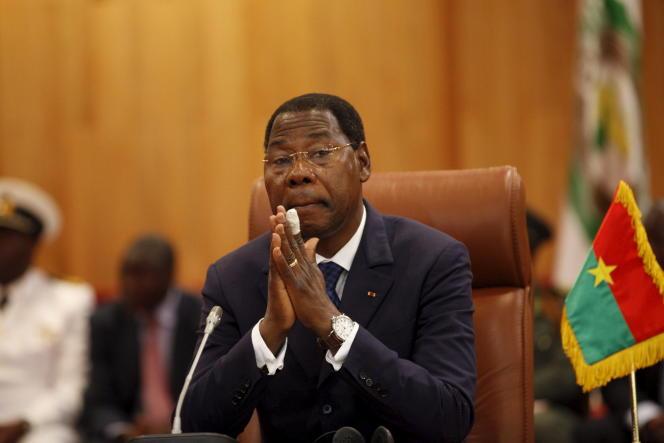 Thomas Boni Yayi, à Ouagadougou, en septembre 2015 .