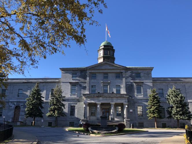 Le campus de l'université McGill, à Montréal (Québec), le 4 novembre 2018.