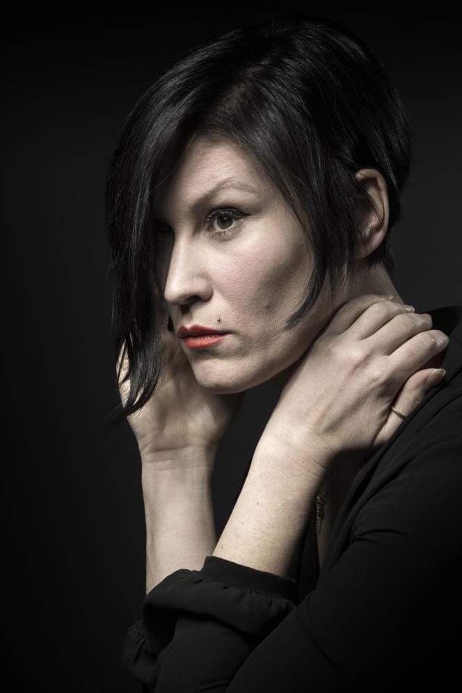 Ovidie est l'autrice, avecTancrède Ramonet, de la série «Vivre sans sexualités», sur France Culture.Le 6 janvier 2017, à Paris.
