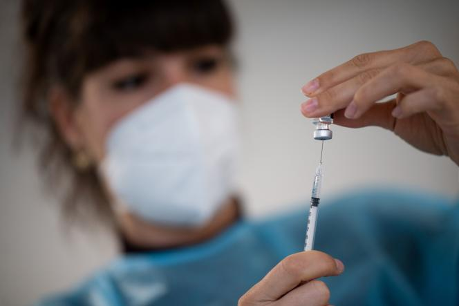Vaccin Pfizer-BioNTech contre le Covid-19, en avril 2021.