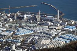 La centrale nucléaire de Fukushima Dai-ichi, à Okuma (Japon), le 7 janvier.