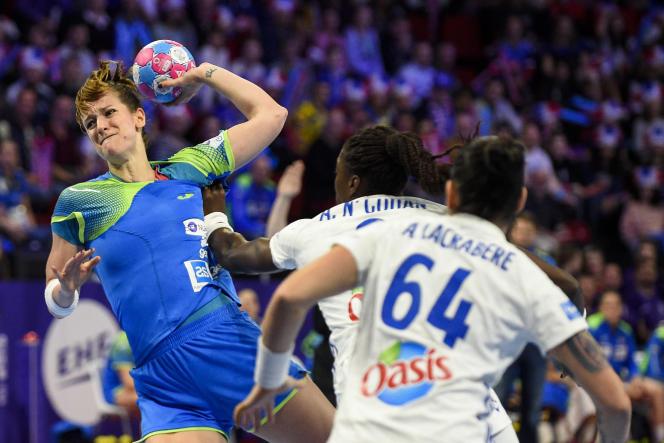 La Slovène Ana Gros quittera Brest à la fin de la saison.