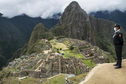 Dans le Machu Picchu, réouvert en novembre 2020.