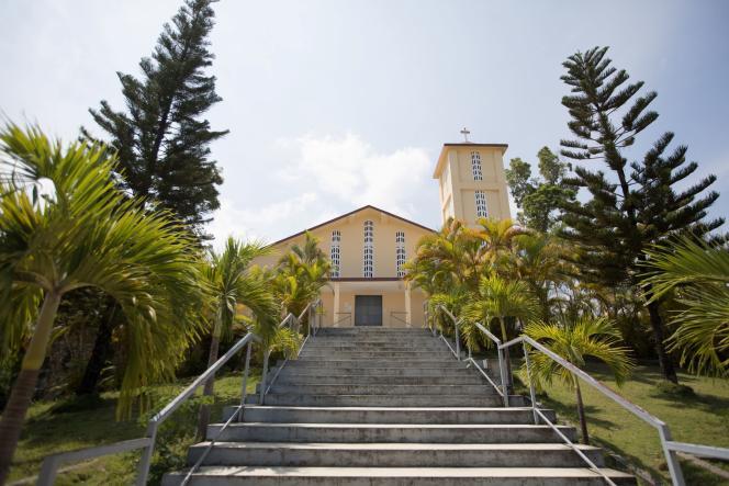 L'église Saint-Roch, à Port-au-Prince, où les religieux ont été kidnappés le 11avril.