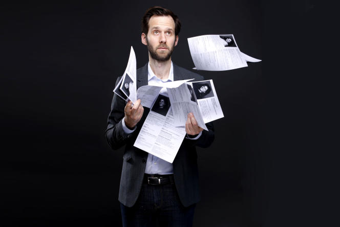 Benjamin Lavernhe dans«Un entretien», série créée par Julien Patry.