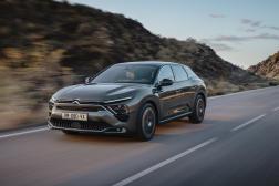 La nouvelle C5X de Citroën.