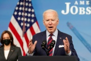 Le président des Etats-Unis, Joe Biden, le 7 avril à Washington.