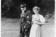 Sigmund Freud et sa fille Anna, en 1913. Une photo de MaxHalberstadt.