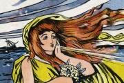 Une déesse de la tempête, de Sydney Carter (vers 1904).