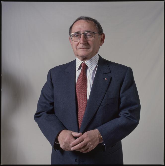 Adolpe Steg, en avril 1996.