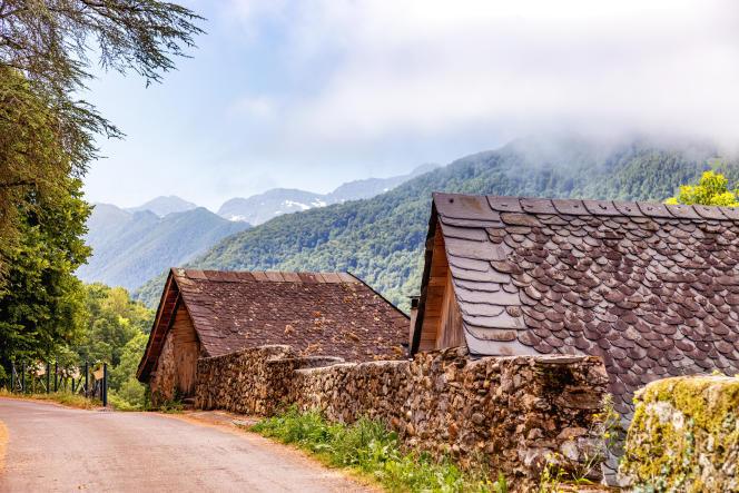 Dans les Pyrénées, en France.