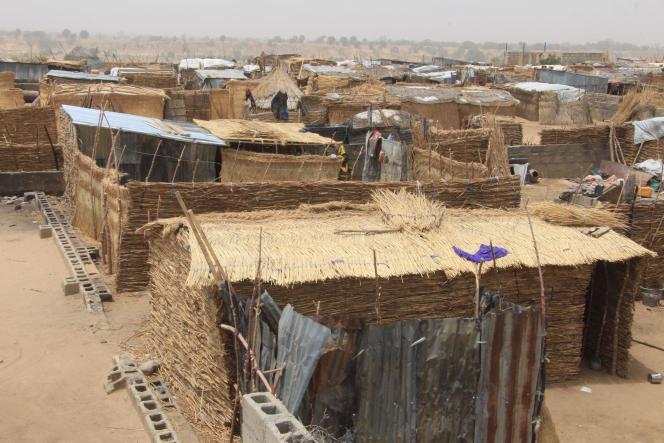 Un camp de réfugiés à Maiduguri, la capitale de l'état de Borno, au Nigeria, le 29 mars 2021.