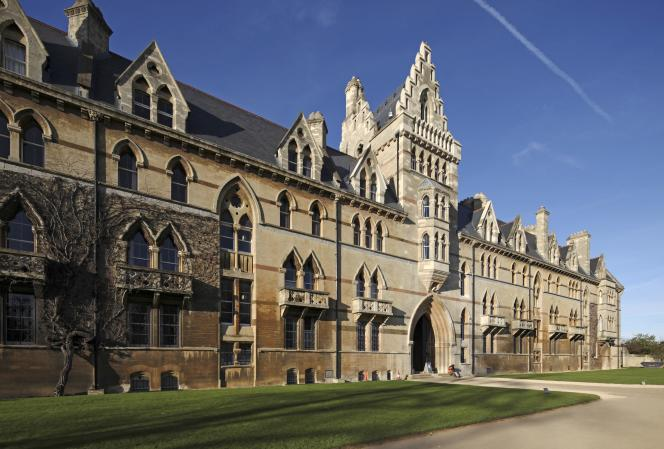 L'un des bâtiments de l'université d'Oxford, en Angleterre.