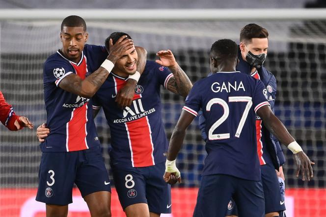 Le Paris Saint-Germain s'est qualifié pour les demi-finales de la Ligue des champions.