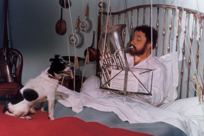 Philippe Noiret dans « Alexandre le bienheureux», le film débonnaire d'Yves Robert.