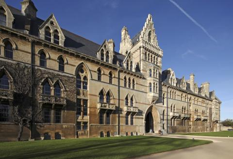 Christchurch is one of the largest constituent colleges of the University of Oxford in England. As well as being a college, Christ Church is also the cathedral church of the diocese of Oxford, namely Christ Church Cathedral, Oxford. England