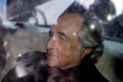 Le financier Bernard Madoff, à New York, le 5 janvier 2009.