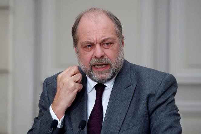 Le ministre de la justice, Eric Dupond-Moretti, le 9 décembre 2020.