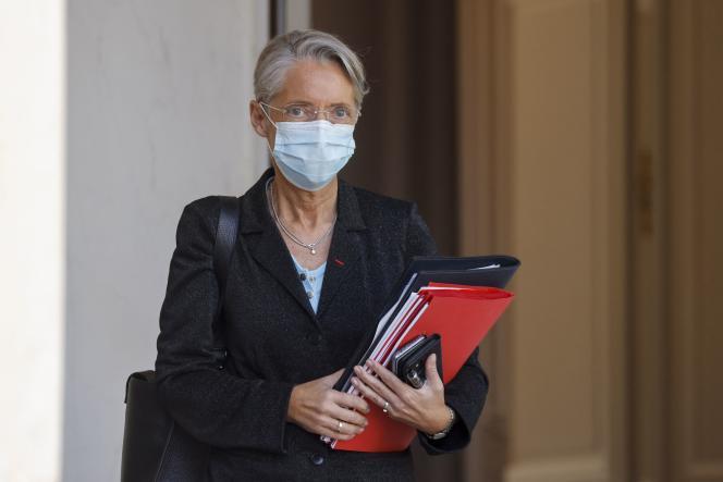 Elisabeth Borne a déclaré:«J'ai demandé à mes services de prendre contact avec l'Unédic pour qu'on règle ce problème et c'est ce qu'on va faire.»