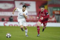 Le Real Madrid et Liverpool se sont affrontés en Ligue des champions le 14 avril.