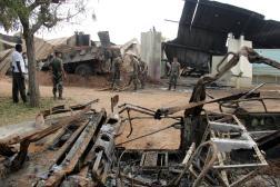 Après le bombardement d'un camp militaire français, à Bouaké, en Côte d'ivoire, en 2004, tuant neuf soldats.