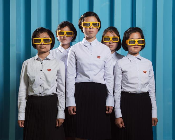 «Portraits de Nord-Coréens, Corée du Nord, Pyongyang, juin2018», de Stephan Gladieu.