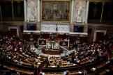L'Assemblée nationale à Paris, le 13 avril.