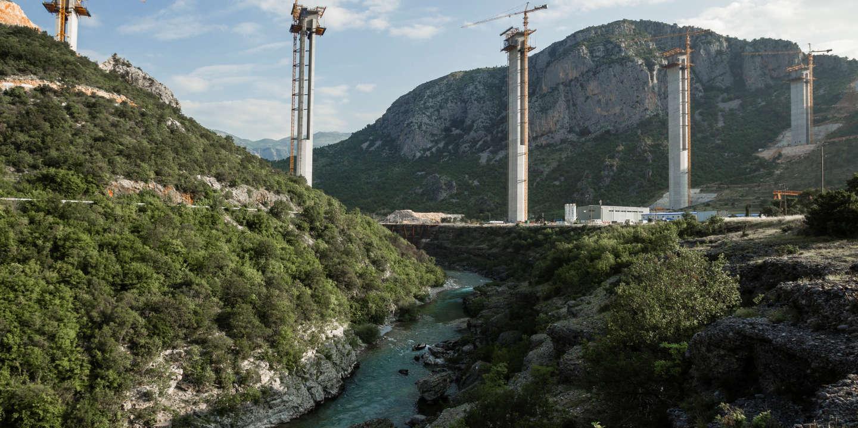 Le Monténégro appelle l'UE à l'aide pour rembourser son autoroute chinoise