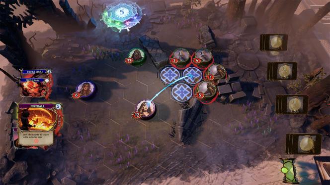 Petit plaisir de jeu : lorsque toutes les conditions sont réunies pour que vous puissiez faire pleuvoir les flammes sur vos ennemis.