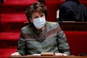 La ministre de la culture Roselyne Bachelot, le 16 mars, à l'Assemblée nationale.
