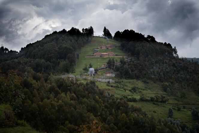 Une vue générale du mémorial du génocide de Bisesero, dans l'ouest du Rwanda, le 2 décembre 2020.