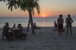 Zen beach, au nord-est de Koh Phangan, une île thaïlandaise, le 5 mars.