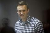 Alexeï Navalny au tribunal à Moscou, en Russie, le 20 février 2021.