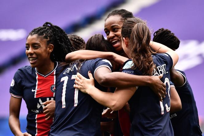 Les Parisiennes ont éliminé les Lyonnaises, vainqueures de la Ligue des champions féminine depuis cinqans.