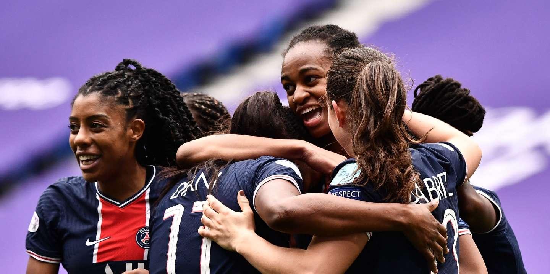 Ligue des champions féminine de football : le PSG élimine Lyon, tenant du titre depuis cinq ans, et se hisse en demi-finales