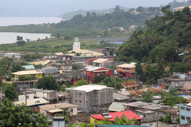 Quartier de M'tsapéré, près de Mamoudzou, le 8 mars.