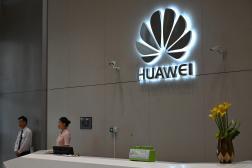 Au siège de Huawei, à Shenzhen (sud-est de la Chine), le 29 mai 2019.