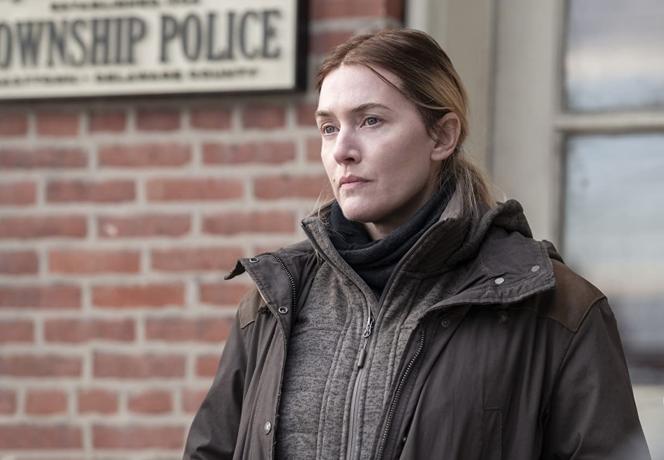Kate Winslet speelt in de serie een politie-inspecteur uit Easttown, een klein, niet-industrieel stadje in Pennsylvania