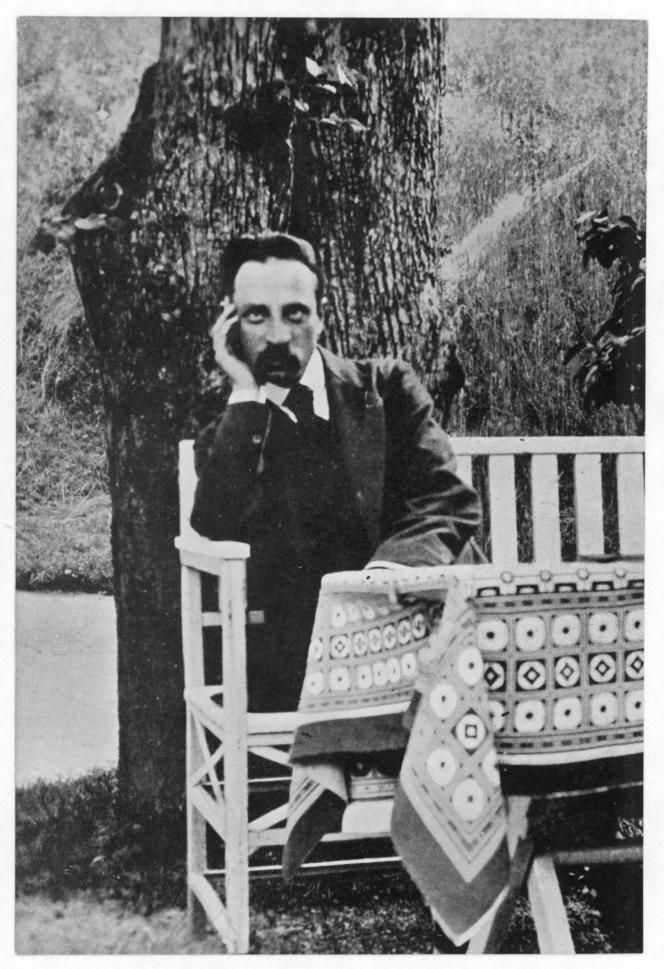 Le poète allemand Rainer Maria Rilke, dans les années 1920.