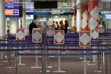 A l'aéroport Roissy-Charles-de-Gaulle, le 18 mars.