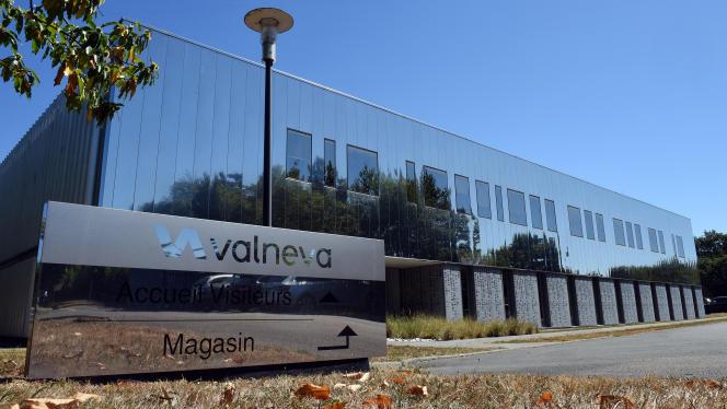 Les locaux de Valneva, à Saint-Herblain (Loire-Atlantique), le 30 juillet 2020.