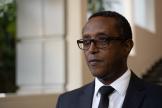 Le ministre rwandais des affaires étrangères, Vincent Biruta, à Kigali, le 9 avril 2021.