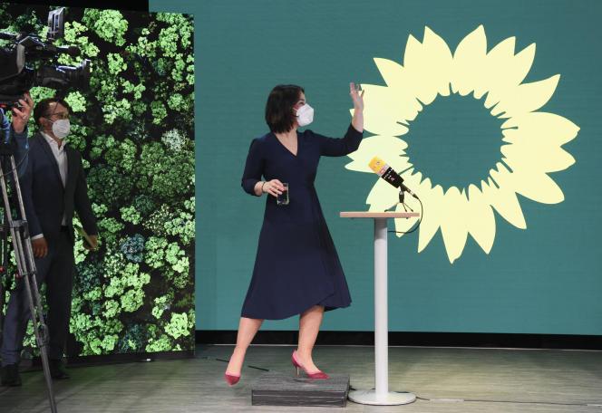 Annalena Baerbock, colíder del Partido Verde Alemán, en Berlín, Alemania, el 19 de abril de 2021.