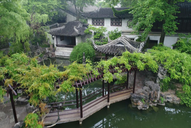Le jardin Liu («Attardez-vous») est l'un des plus célèbres et plus beaux jardins classiques de Chine.