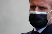 Emmanuel Macron, à Montpellier (Hérault), le 19 avril.