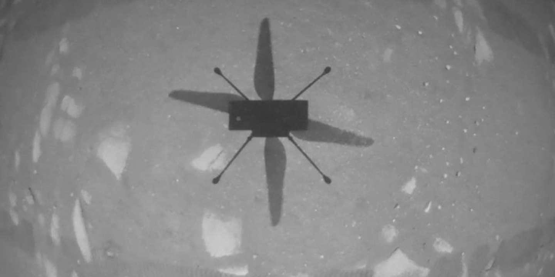 Premier vol sur Mars réussi pour le petit hélicoptère Ingenuity de la NASA