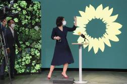 La codirigeante du parti vert allemand, Annalena Baerbock, à Berlin, en Allemagne, le 19 avril 2021.