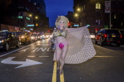 Une drag queen à New York, en 2019.