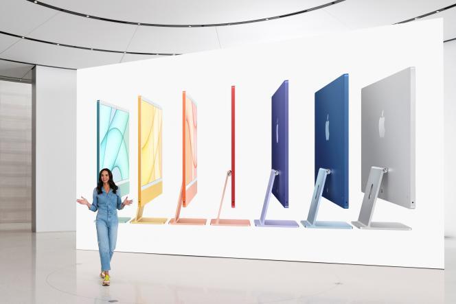 Neues iMac Design und Farben.