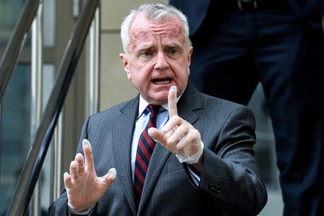 John Sullivan, US-Botschafter in Moskau, Juni 2020.